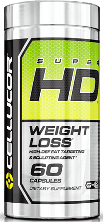 Cellucor SuperHD Fat Burners Supplement
