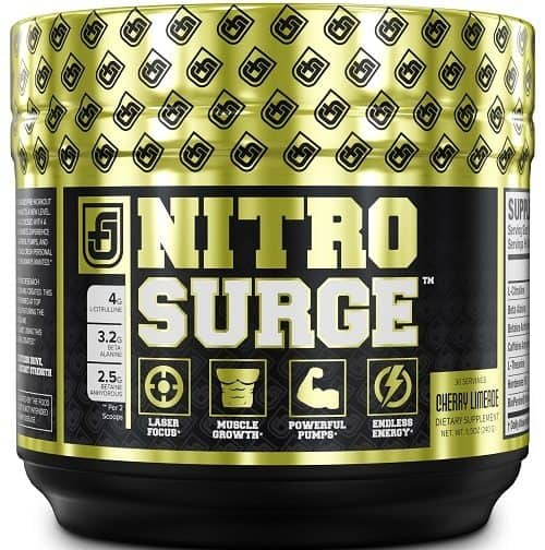 Jacked Factory NITROSURGE Pre Workout Supplement
