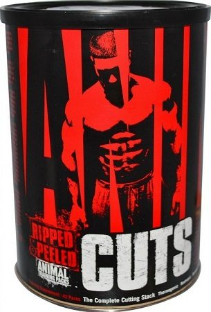 Universal Nutrition Animal Cuts Fat Burner Supplement