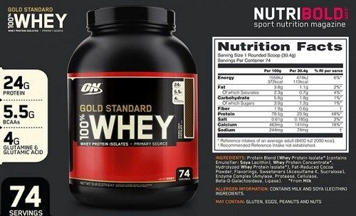 gold standard whey protei