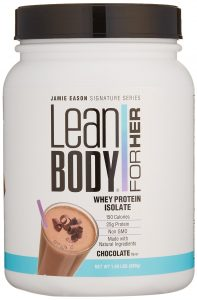 Jamie Eason Signature Series Whey Protein Isolate, Lean Protein Powder
