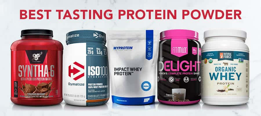 The Best Tasting Protein Powder Ever  Updated For 2019